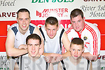 The Ultras, Castleisland district who lost the Senior Mens Final at the 2008 St Mary's Christmas blitz in Castleisland Community Centre on Tuesday row l-r: Brendan Moran, Mike McCarthy, Edmund, James Walsh and Kevin Moran