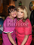 Mary Kelly pictured at her retirement from Dunnes Stores party in The Mariner with friend Patricia Harrison. Photo:Colin Bell/pressphotos.ie