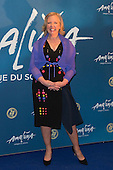 London, UK. 19 January 2016. Businesswoman Deborah Meaden. Celebrities arrive on the red carpet for the London premiere of Amaluna, the latest show of Cirque du Soleil, at the Royal Albert Hall.