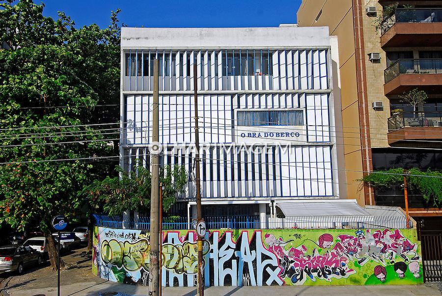 Abrigo infantil Obra do Berço, Rio de Janeiro. 2007. Foto de Luciana Whitaker.