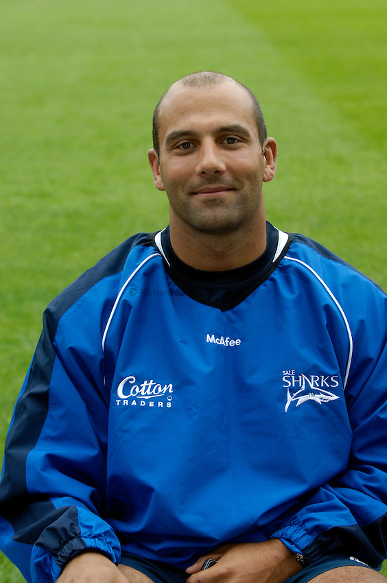 Photo: Jed Wee..Sale Sharks Media Day. 16/08/2006...Academy Manager James Wade.