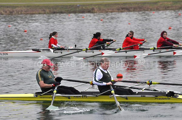 329 AbingdonRC MasF.2x..Marlow Regatta Committee Thames Valley Trial Head. 1900m at Dorney Lake/Eton College Rowing Centre, Dorney, Buckinghamshire. Sunday 29 January 2012. Run over three divisions.