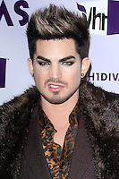 "LOS ANGELES, CA - DECEMBER 16: Adam Lambert arrives at ""VH1 Divas"" 2012 held at The Shrine Auditorium on December 16, 2012 in Los Angeles, California.  Credit: MediaPunch Inc. /NortePhoto"