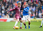 Rangers v St Johnstone&hellip;16.02.19&hellip;   Ibrox    SPFL<br />David Wotherspoon fends off Ryan Kent<br />Picture by Graeme Hart. <br />Copyright Perthshire Picture Agency<br />Tel: 01738 623350  Mobile: 07990 594431