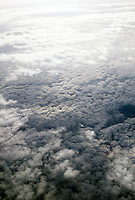 CLOUDS: VIEW FROM AIRPLANE