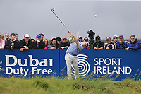 Robert MacIntyre (SCO) tees off the 18th tee during Saturday's Round 3 of the Dubai Duty Free Irish Open 2019, held at Lahinch Golf Club, Lahinch, Ireland. 6th July 2019.<br /> Picture: Eoin Clarke | Golffile<br /> <br /> <br /> All photos usage must carry mandatory copyright credit (© Golffile | Eoin Clarke)