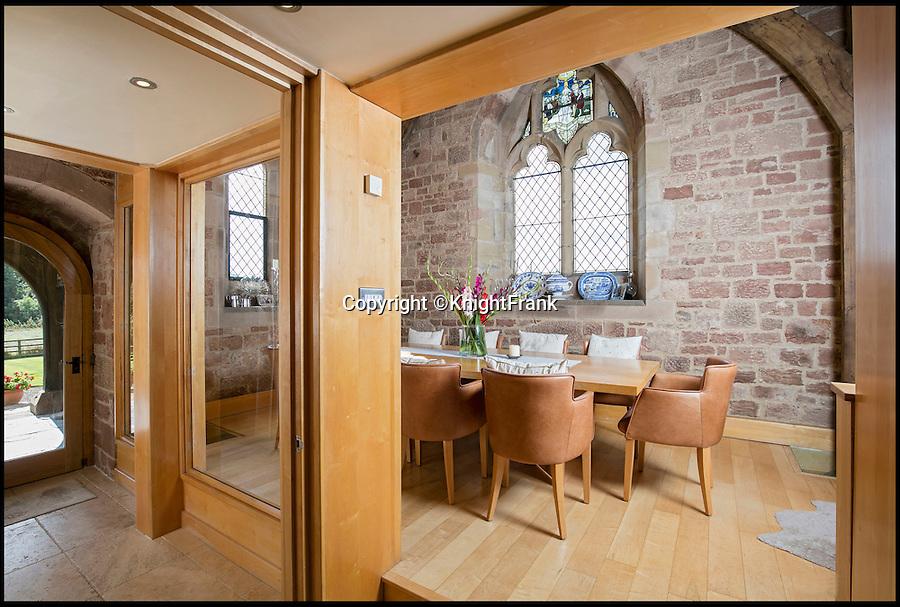 BNPS.co.uk (01202 558833)<br /> Pic: KnightFrank/BNPS<br /> <br /> Pristine Chapel - The answer to your property prayers...<br /> <br /> This heavenly converted church is the perfect sanctuary for anyone who wants a historic home...and doesn't mind living in a graveyard.<br /> <br /> St Bartholomews in Little Packington, Warwicks, was turned into a home in 2000 and has now been put on the market with estate agents Knight Frank for £725,000.<br /> <br /> The quirky property looks so true to its original form that ramblers have been known to wander into its grounds.