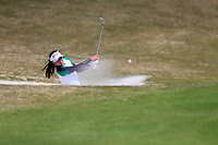 Atthaya Thitikul (THA) on the 18th during the second round of the Augusta National Womans Amateur 2019, Champions Retreat, Augusta, Georgia, USA. 04/04/2019.<br /> Picture Fran Caffrey / Golffile.ie<br /> <br /> All photo usage must carry mandatory copyright credit (&copy; Golffile | Fran Caffrey)