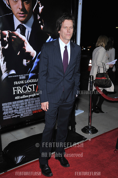 "Kevin Bacon at the Los Angeles premiere of his new movie ""Frost/Nixon"" at the Academy's Samuel Goldwyn Theatre, Beverly Hills..November 24, 2008  Los Angeles, CA.Picture: Paul Smith / Featureflash"