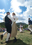 Scandinavian Festival, celebration, event, summer, morning, Rocky Mountains, Estes Park, Colorado, USA
