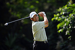 TAIPEI, TAIWAN - NOVEMBER 20:  David Ishii of USA tees off on the 2nd hole during day three of the Fubon Senior Open at Miramar Golf & Country Club on November 20, 2011 in Taipei, Taiwan. Photo by Victor Fraile / The Power of Sport Images