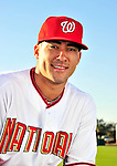 28 February 2010: Washington Nationals shortstop Ian Desmond poses for his Spring Training photo at Space Coast Stadium in Viera, Florida. Mandatory Credit: Ed Wolfstein Photo