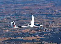 Segelflugzeuge in der Luft