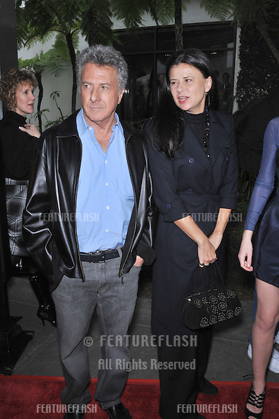 "Dustin Hoffman & Tracey Ullman at the world premiere of their new movie ""The Tale of Despereaux"" at the Arclight Theatre, Hollywood..December 7, 2008  Los Angeles, CA.Picture: Paul Smith / Featureflash"