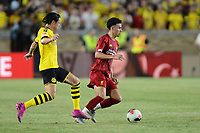 South Bend, IN, Friday July 19 2019.  Borussia Dortmund defeated Liverpool 3-2 in an international friendly at Notre Dame Stadium.
