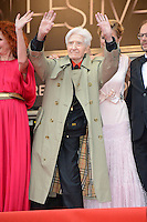 "Alain Resnais attending the ""vous n avez encore rien vu (You ain t seen nothin yet)"" Premiere during the 65th annual International Cannes Film Festival in Cannes, 21th May 2012...Credit: Timm/face to face /MediaPunch Inc. ***FOR USA ONLY***"