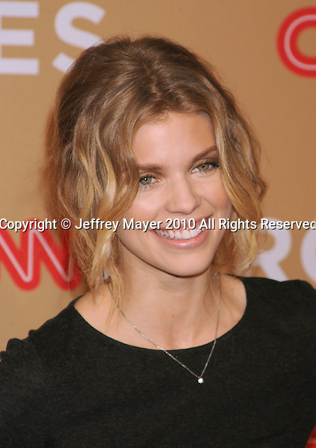 LOS ANGELES, CA. - November 20: AnnaLynne McCord arrives at the 2010 CNN Heroes: An All-Star Tribute held at The Shrine Auditorium on November 20, 2010 in Los Angeles, California.