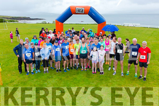 A light drizzle kept competitors cool at the Annual 3 Beach Challenge in Ballinskelligs on Sunday in aid of the Donal Walsh Foundation & Ballinskelligs Community Care.