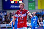 ARNESSON, Linus (#24 Bergischer HC) \ beim Spiel in der Handball Bundesliga, TVB 1898 Stuttgart - Bergischer HC.<br /> <br /> Foto © PIX-Sportfotos *** Foto ist honorarpflichtig! *** Auf Anfrage in hoeherer Qualitaet/Aufloesung. Belegexemplar erbeten. Veroeffentlichung ausschliesslich fuer journalistisch-publizistische Zwecke. For editorial use only.