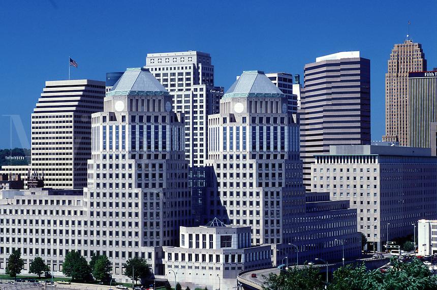 skyline, Cincinnati, OH, Ohio, Downtown skyline of Cincinnati