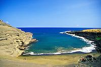 Green Sand Beach on the Big Island
