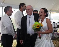 Jeanette & Garrett's wedding, Jacobsburg, Ohio on September 21, 2013.