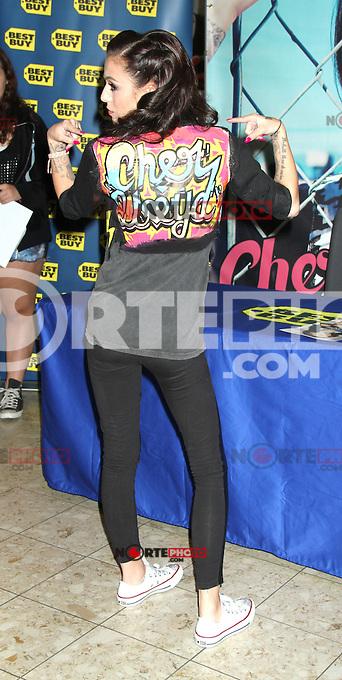 August 30, 2012: Cher Lloyd signing her debut CD &quot;Sticks + Stones&quot; at Best Buy Fifth Avenue in New York City...&copy; RW/MediaPunch Inc. /NortePhoto.com<br /> <br /> **CREDITO*OBLIGATORIO** <br /> *No*Venta*A*Terceros*<br /> *No*Sale*So*third*<br /> *** No*Se*Permite*Hacer*Archivo**<br /> *No*Sale*So*third*