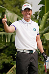 Michael Wong  during the Mission Hills Start Trophy at the Mission Hills Golf Resort on October 31, 2010 in Haikou, China. The Mission Hills Star Trophy is Asia's leading leisure liflestyle event and features Hollywood celebrities and international golf stars. Photo by Victor Fraile