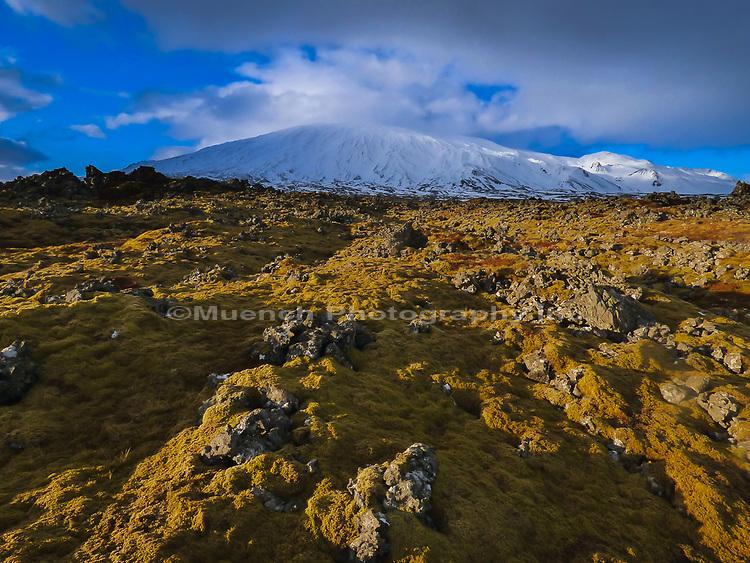 Snaefellsnesjokull,Snaefellsnes National Park,Iceland