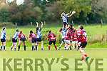 Tralee's Siobhan Fleming take the line out in the   Women's Rugby Division 1 Tralee v Bantry at O'Dowd Park on Saturday