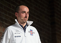 Robert Kubica during the Williams 2018 F1 Car Launch at Villiage Underground, London, England on 15 February 2018. Photo by Vince  Mignott.
