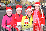Claire, Lily, Lisa and Anna Cox Brosna at the Jingle run in Castleisland on Sunday