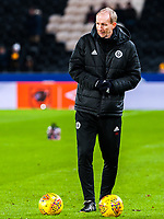Sheffield United's assistant manager Alan Knill during the Sky Bet Championship match between Hull City and Sheff United at the KC Stadium, Kingston upon Hull, England on 23 February 2018. Photo by Stephen Buckley / PRiME Media Images.