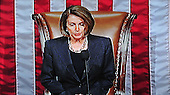 Frame grab of United States Speaker of the House Nancy Pelosi (Democrat of California) reads the charges against US Representative Representative Charlie Rangel (Democrat of New York) on the floor of the US House of Representatives on Thursday, December 2, 2010..Credit: Ron Sachs / CNP..(RESTRICTION: NO New York or New Jersey Newspapers or newspapers within a 75 mile radius of New York City)