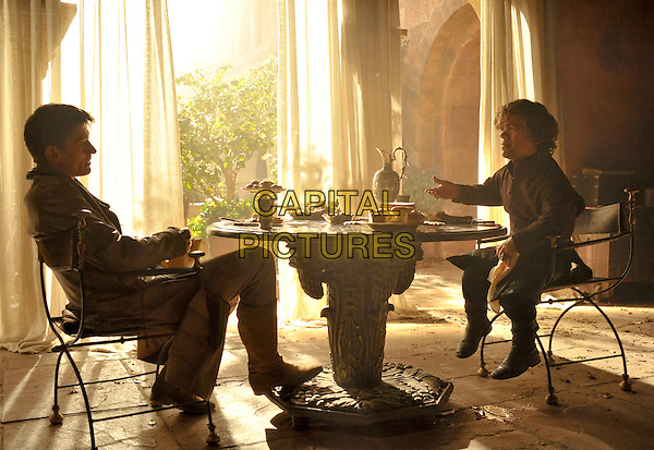 Nikolaj Coster-Waldau, Peter Dinklage<br /> in Game of Thrones (Season 4)<br /> *Filmstill - Editorial Use Only*<br /> CAP/FB<br /> Image supplied by Capital Pictures