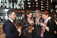 Massimo Mirabile, Head Sommelier, MaryJo Boylan, Greg Canty and Deirdre Waldron pictured at the launch of The Malton Hotel Wine Rooms in Killarney at the weekend..Picture by Don MacMonagle..Guests enjoyed an extensive range of wines from the best regions around the world in a stylish, interactive and relaxed atmosphere, The Wine Rooms house the state-of-the-art self service enomatic wine dispensing system which hosts a dazzling array of both white and red wines from the hotel's extensive wine list, which can be sampled endlessly without the need to purchase multiple bottles.  The Killarney Wine Rooms offer an interactive experience where you can sample a selection of wines by using a prepaid debit card and simply selecting a wine, with the option of glass, half glass, or tasting glass. As the wine is dispensed the card is debited for the appropriate amount. ..Tasting glasses start at ?1.20, with half glasses from ?3.50 and full glasses from ?5.50. Customers at The Killarney Wine Rooms can also choose from over 80 wines from the bottle from the hotel's extensive wine menu...Massimo Mirable, The Malton's Head Sommelier manages The Killarney Wine Rooms and says ?Our aim is to make wine tasting a bit more approachable, interactive, and relaxed. We are happy to share our wine knowledge and guide customers through our wine selection. The enomatic system is capable of preserving wine perfectly for up to 21 days and it gives everyone the chance to taste premium wines by the glass - whether they are wine connoisseurs or complete novices to the wonderful world of wines.?..The new offering at The Malton complements the existing dining options and extensive food menus in The Garden Room and The Punchbowl Bar; and customers can also enjoy sharing platters with an array of antipasti, charcuterie and cheese selections from The Killarney Wine Rooms menu. The Killarney Wine Rooms are open during normal bar trading hours, and serve food 4.30pm-9.30pm Sunday to Thursday, and 2.30pm-10