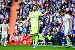 Real Madrid's Kiko Casilla during La Liga match between Real Madrid and Deportivo Alaves at Stadium Santiago Bernabeu in Madrid, Spain. April 02, 2017. (ALTERPHOTOS/BorjaB.Hojas)