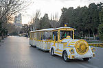 Sts Fun Train Along Baku Ocean Front