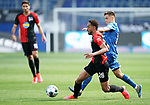 v.l. Matheus Cunha, Christoph Baumgartner (Hoffenheim)<br /> Sinsheim, 16.05.2020, Fussball Bundesliga, TSG 1899 Hoffenheim - Hertha BSC Berlin<br /> <br /> Foto Wagner/Witters/Pool/PIX-Sportfotos *** Foto ist honorarpflichtig! *** Auf Anfrage in hoeherer Qualitaet/Aufloesung. Belegexemplar erbeten. Veroeffentlichung ausschliesslich fuer journalistisch-publizistische Zwecke. For editorial use only. DFL regulations prohibit any use of photographs as image sequences and/or quasi-video.