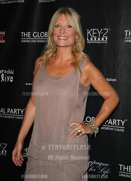 Gaby Roslin arriving for The Global Launch Party, at the Natural History Museum, London. 08/09/2011 Picture By: Alexandra Glen / Featureflash