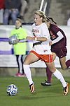 08 November 2013: Virginia's Makenzy Doniak. The University of Virginia Cavaliers played the Virginia Tech Hokies at WakeMed Stadium in Cary, North Carolina in a 2013 NCAA Division I Women's Soccer match and the semifinals of the Atlantic Coast Conference tournament. Virginia Tech won the game 4-2.