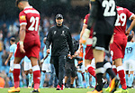 Liverpool's Jurgen Klopp looks on dejected at the final whistle during the premier league match at the Etihad Stadium, Manchester. Picture date 9th September 2017. Picture credit should read: David Klein/Sportimage