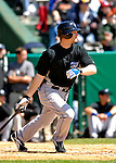 21 May 2007: Toronto Blue Jays infielder Aaron Hill in action against the Baltimore Orioles at Doubleday Field during Baseball's Annual Hall of Fame Game in Cooperstown, NY. The Orioles defeated the Blue Jays 13-7 in front of a sellout crowd of 9,791 at the historical ballpark...Mandatory Credit: Ed Wolfstein Photo
