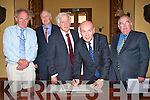 KERRY PLACE NAMES: Mayor of Killarney Michael Glesson with Minister for Community, Equality & Gaeltacht Affairs Pat Carey launching the Kerry Place Names at Muckross House on Friday l-r: Mayor of Killarney Michael Glesson, Marcus Tracey (trustee Muckross House), Dr Eamon Langford (UCC), Minister for Community, Equality & Gaeltacht Affairs Pat Carey and Senator Paul Coughlan.