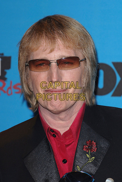 TOM PETTY.At the 2005 Billboard Music Awards at the MGM Grand Hotel, Las Vegas, Nevada, USA,.December 6th, 2005..portrait headshot sunglasses glasses.Ref: MOO.www.capitalpictures.com.sales@capitalpictures.com.©Capital Pictures..