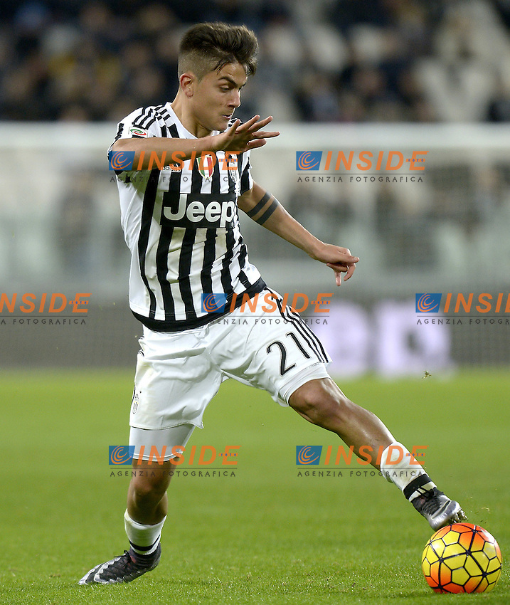 Paulo Dybala Juventus,<br /> Torino 03-02-2016, Juventus Stadium, Football Calcio 2015/2016 Serie A, Juventus - Genoa, Foto Filippo Alfero/Insidefoto