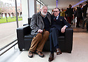 File pictures of Award winning Belfast poet Ciaran Carson (wearing glasses) who passed away early Sunday Oct 6th, 2019 aged 70. Photo/Paul McErlane File pictures of Award winning Belfast poet Ciaran Carson (wearing glasses) sits with fellow poet Michael Longley at an event at Queen's University Belfast in 2014. Ciaran Carson passed away early Sunday Oct 6th, 2019 aged 70. Photo/Paul McErlane