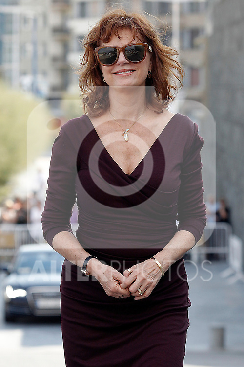 Susan Sarandon attends the photocall for 'The Holes' during the 60th San Sebastian Donostia International Film Festival - Zinemaldia.September 20,2012.(ALTERPHOTOS/ALFAQUI/Acero)