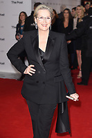 Meryl Streep at the European premiere of &quot;The Post&quot; at the Odeon Leicester Square, London, UK. <br /> 10 January  2018<br /> Picture: Steve Vas/Featureflash/SilverHub 0208 004 5359 sales@silverhubmedia.com