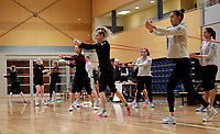 Silver Ferns Training 120918